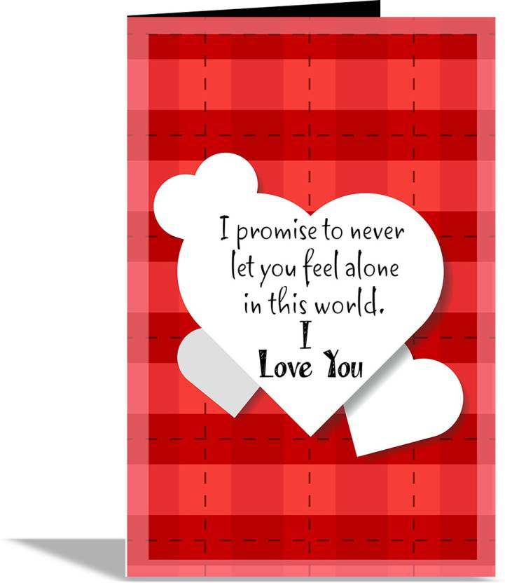Alwaysgift I Love You Valentines Day Greeting Card Greeting Card