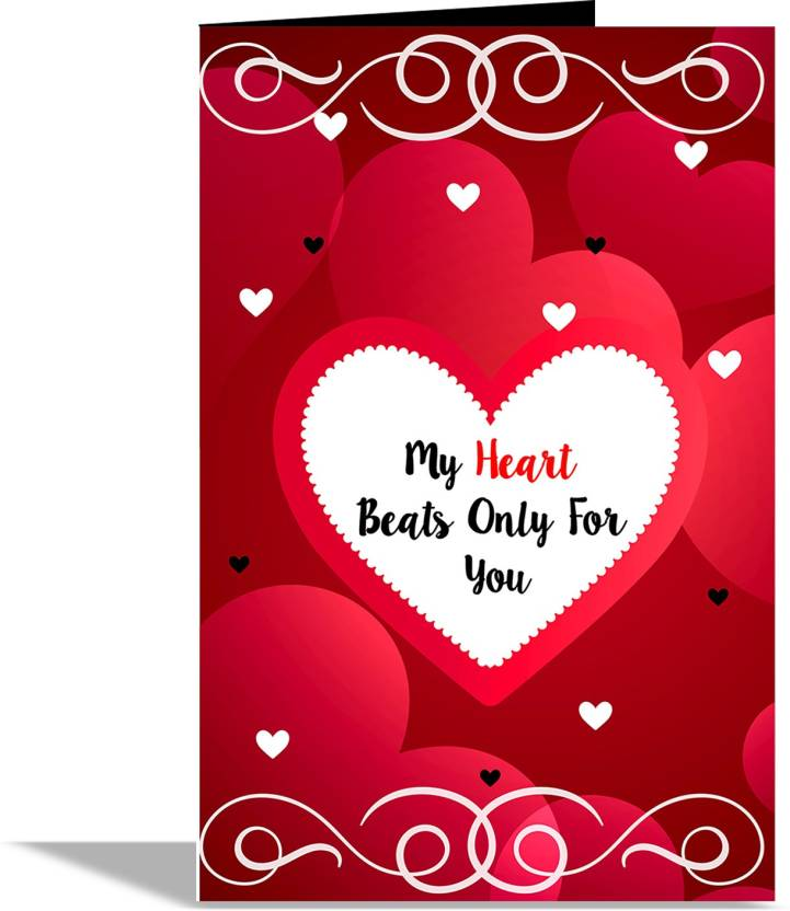 Alwaysgift my heart beats only for u valentines day greeting card alwaysgift my heart beats only for u valentines day greeting card greeting card m4hsunfo