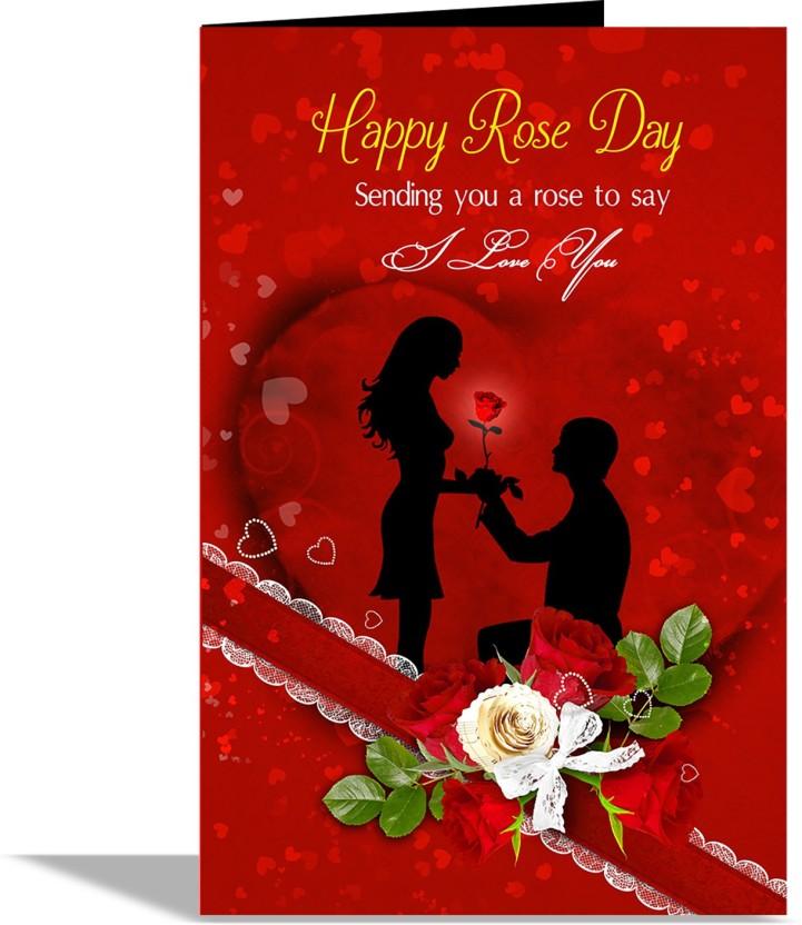 Love U Valentines Card