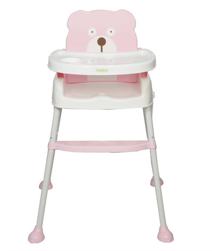f1f0c7fa9068c Baybee 5 in 1 Smart and Convertible High chair Baby Feeding Chair (Pink)