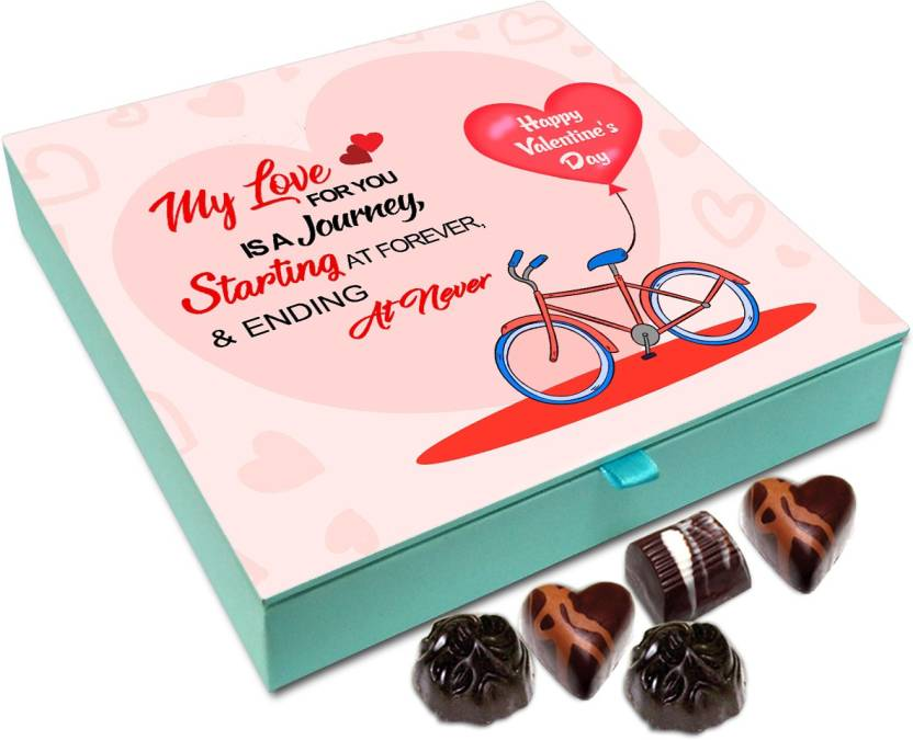 Chocholik Valentines Day Gift Box My Love For You Is A Journey