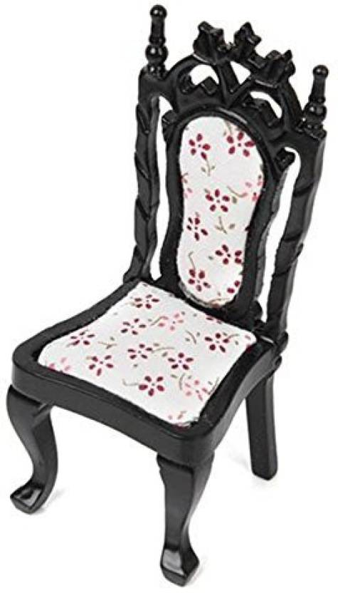 Hrzyecommerce 1 12 Dollhouse Living Room Chair Black Miniature