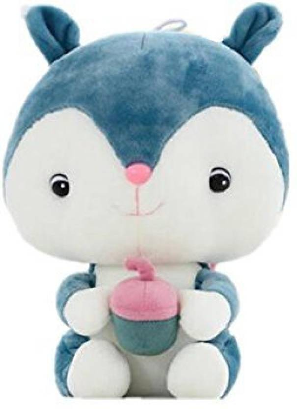 f86e55d404a9 Judy Dre Am Plush Toy Cartoon Squirrel Doll- Soft Cute Blue Animals Toys Pp  Cotton Stuffed Dolls Birthday/Christmas Gift For Kid/Girlfriend (Multicolor)