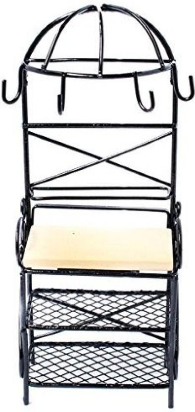 1:12 Dollhouse Black Metal Hook Hanger Home Furniture Miniature Accessory Decor