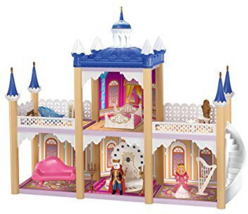 Generic Princess S Dollhouse Castle With Furniture Gift Set