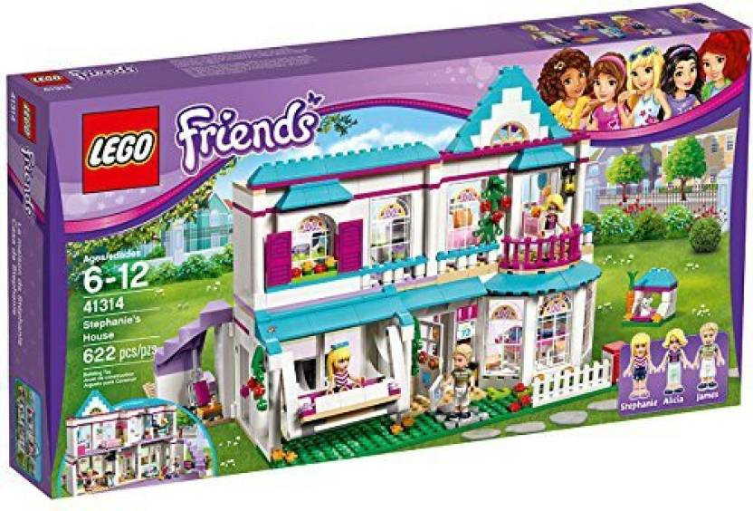 Lego Friends Christmas Sets.Learn N Develop Lego Friends Stephanie S House Imaginative