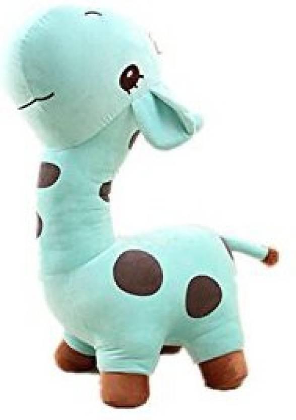04749125cb53 Luk Oil Cartoon Cute Soft Blue Giraffe Plush Toys Stuffed Children'S Dolls  For Christmas Birthday Gift 27
