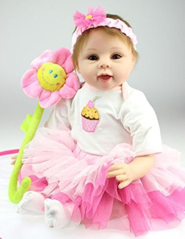 BABY GIRL//REBORN DOLL ASSORTED COLOUR  DAISY HEADBAND