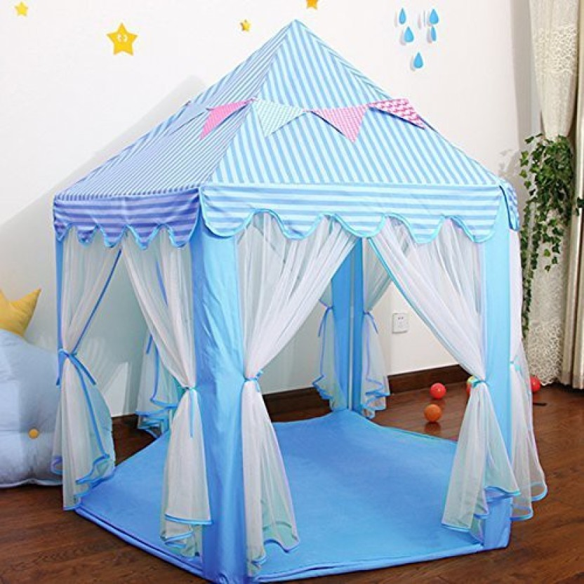 Outdoor Play House Easy Folding Ball Pit Hideaway Tent Play Hut For Kids MS