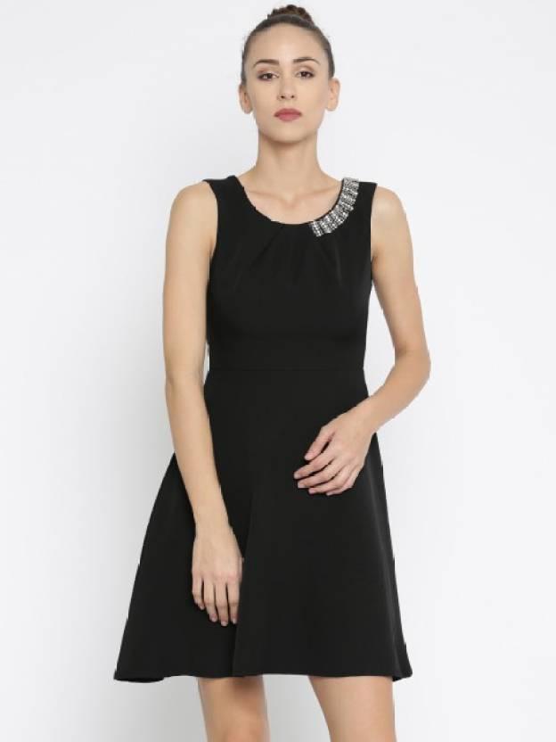3ccd0601ff34 Deal Jeans Women s Skater Black Dress - Buy BLACK Deal Jeans Women s ...