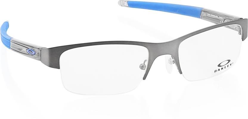 ff55a37c8c Oakley Half Rim Rectangle Frame Price in India - Buy Oakley Half Rim ...