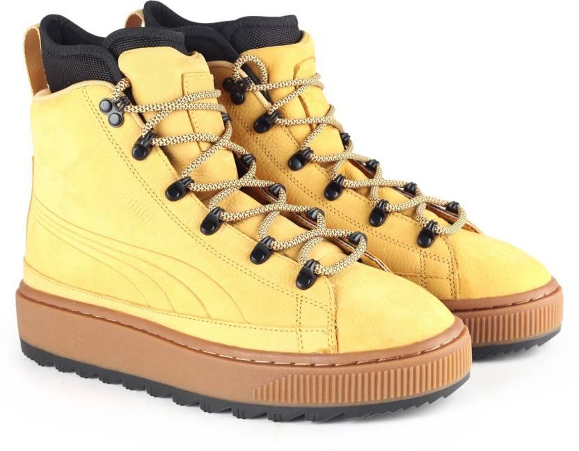 7e00614cbc1 Puma The Ren Boot NBK Sneakers For Men - Buy Taffy Color Puma The ...