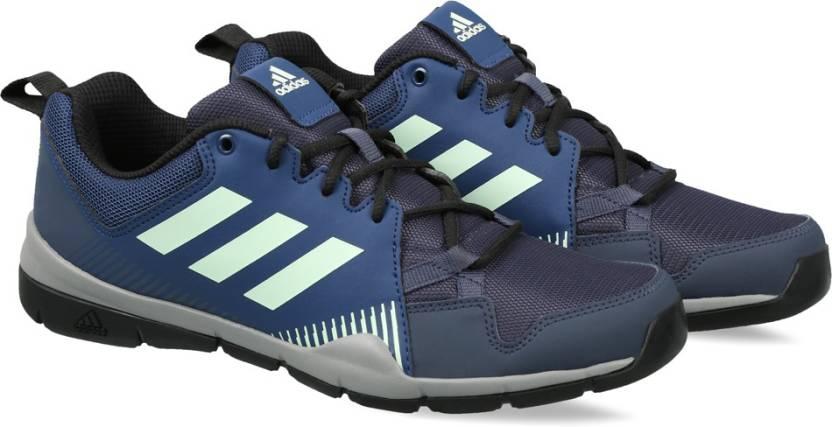 Adidas detto percorso all'aperto per gli uomini comprano scarpe trablu / mysblu / cnero
