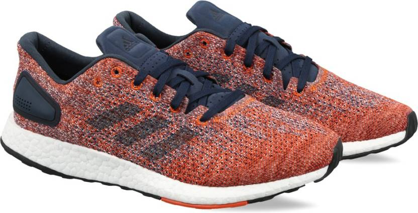 brand new a103b c06e4 ADIDAS PUREBOOST DPR Running Shoes For Men (Blue)