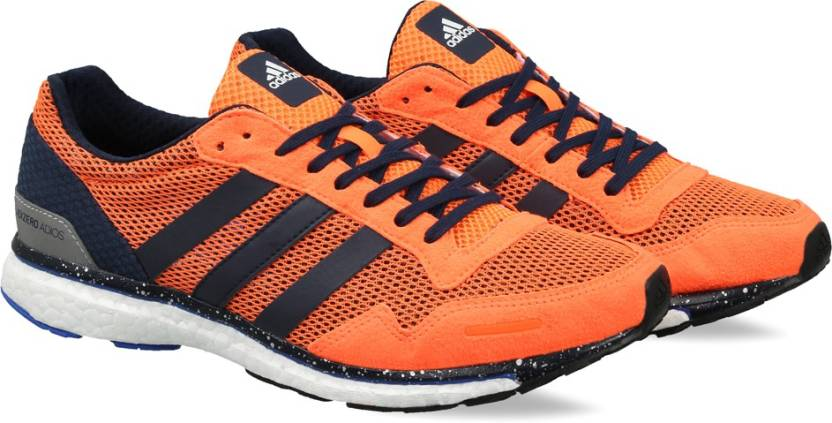 watch c1179 c26d3 ADIDAS ADIZERO ADIOS M Running Shoes For Men (Orange)