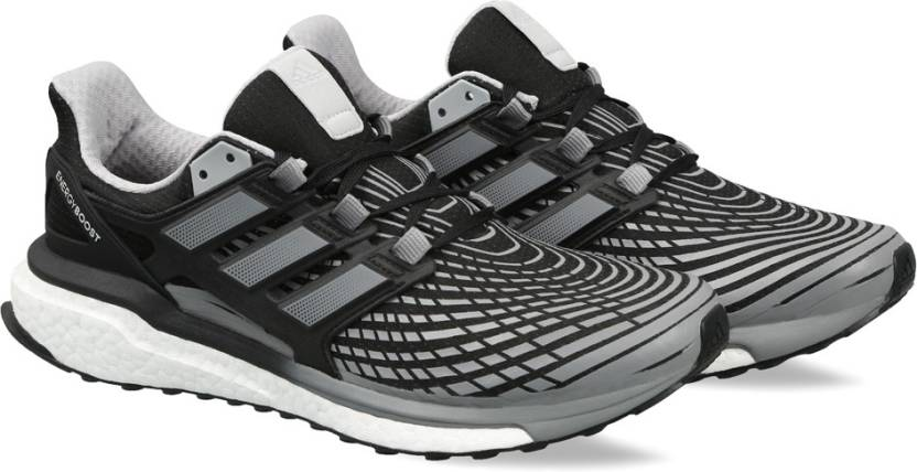 hot sales ef28b 2c1be ADIDAS ENERGY BOOST M Running Shoes For Men (Black)