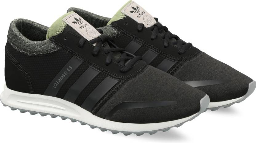 save off 3fe99 3e61f ADIDAS ORIGINALS LOS ANGELES Sneakers For Men (Black)
