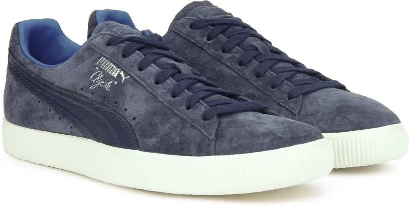 455ba000cad Puma Clyde Normcore Sneakers For Men - Buy Peacoat-Peacoat-Whisper ...