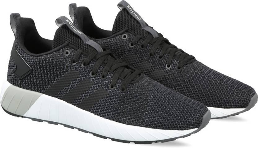 adidas questar da scarpe per gli uomini comprano cblack / cblack / carbonio