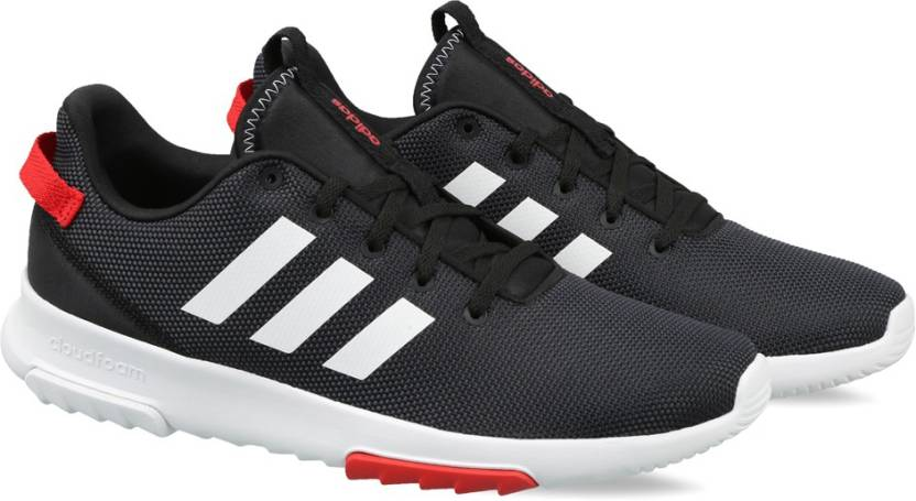 ADIDAS CF RACER TR Running Shoes For Men - Buy CBLACK FTWWHT SCARLE ... 4a08c040a