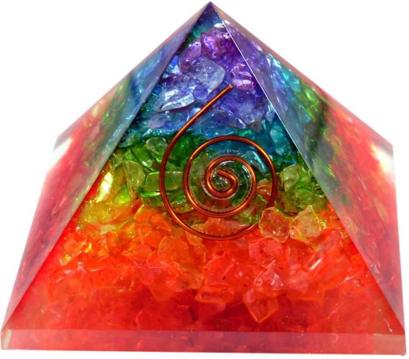 Reiki Crystal Products 7 Chakra Reiki Onyx Orgone Pyramid