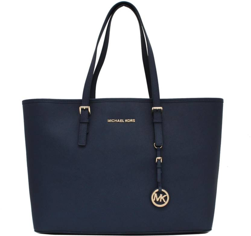 ead52ac5ca70 Buy Michael Kors Tote Blue Online @ Best Price in India | Flipkart.com