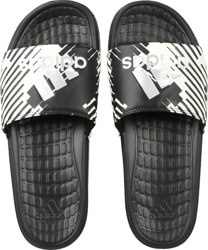 buy online 26710 77c35 ADIDAS VOLOOMIX GR Slides - Buy CBLACK SILVMT CWHITE Color ADIDAS VOLOOMIX  GR Slides Online at Best Price - Shop Online for Footwears in India    Flipkart. ...
