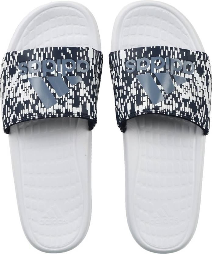 0b881b9419a89 ADIDAS VOLOOMIX GR Slides - Buy FTWWHT CONAVY RAWSTE Color ADIDAS VOLOOMIX  GR Slides Online at Best Price - Shop Online for Footwears in India