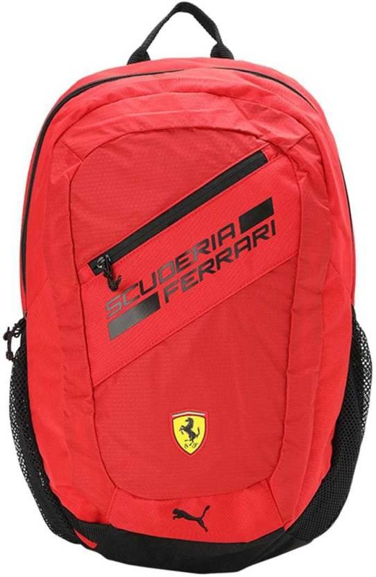 Puma Ferrari Fanwear Backpack 22 L Laptop Backpack Rosso Corsa ... 48f206310d49b
