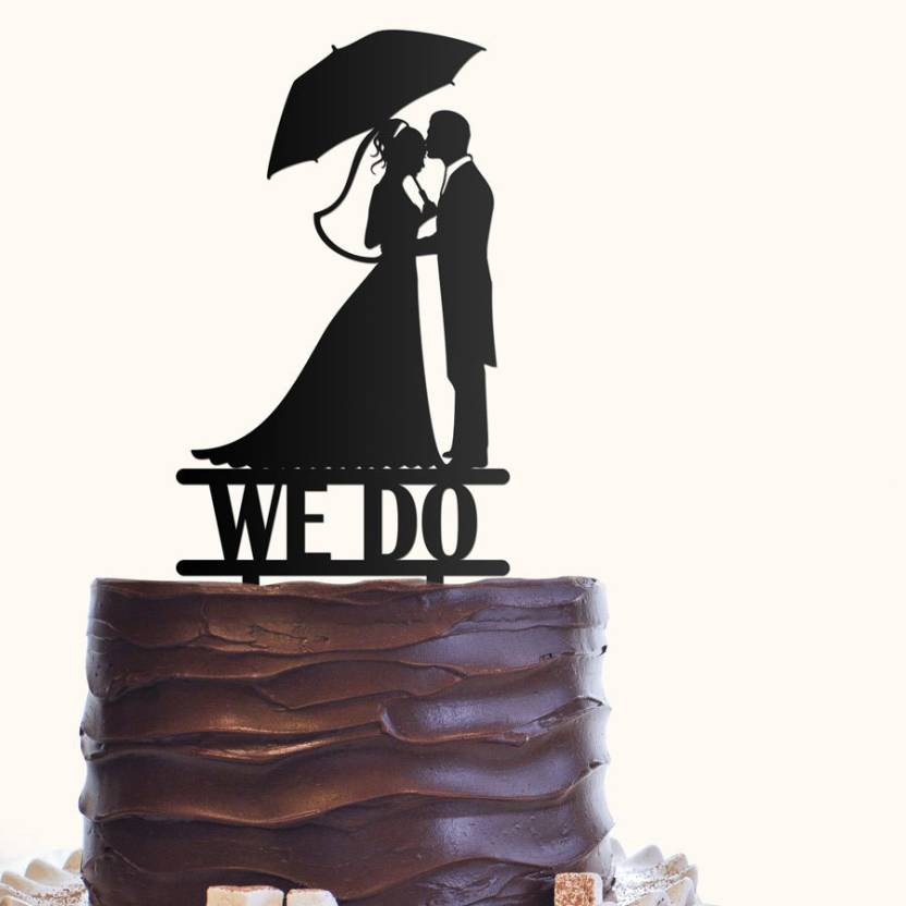 Engrave We Do Wedding Cake Topper Price In India Buy Engrave We Do