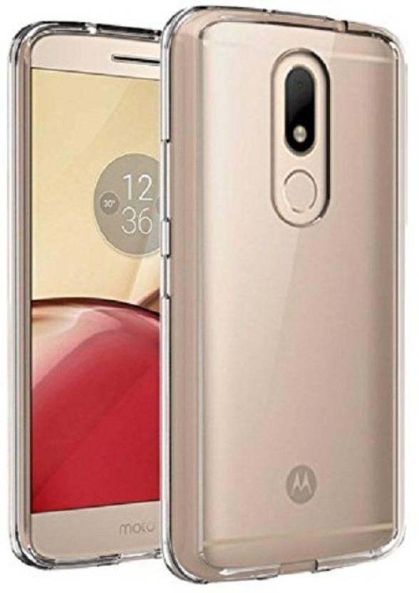 Power Back Cover for Motorola Moto M Transparent
