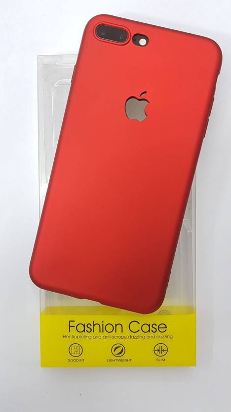 promo code 9e43c 3b33a Midkart Back Cover for Smooth Matte Cherry Red Colour Logo Cut ...