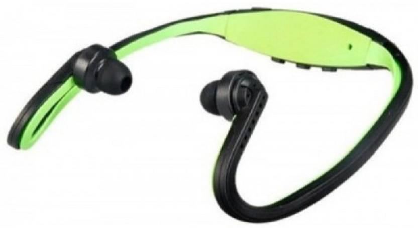 CRETO Latest best quality sound fm sport mp3 portable headphone neck