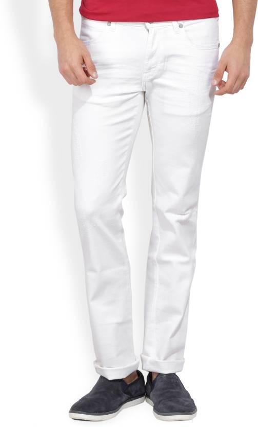 73e55378 Wrangler Slim Men's White Jeans - Buy JSW-WHITE Wrangler Slim Men's White Jeans  Online at Best Prices in India | Flipkart.com