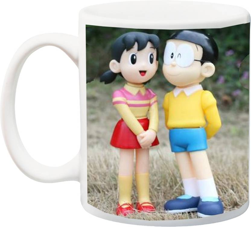 Stylotrendz I Gifted This Cute Nobita And Shizuka Couple Print To My