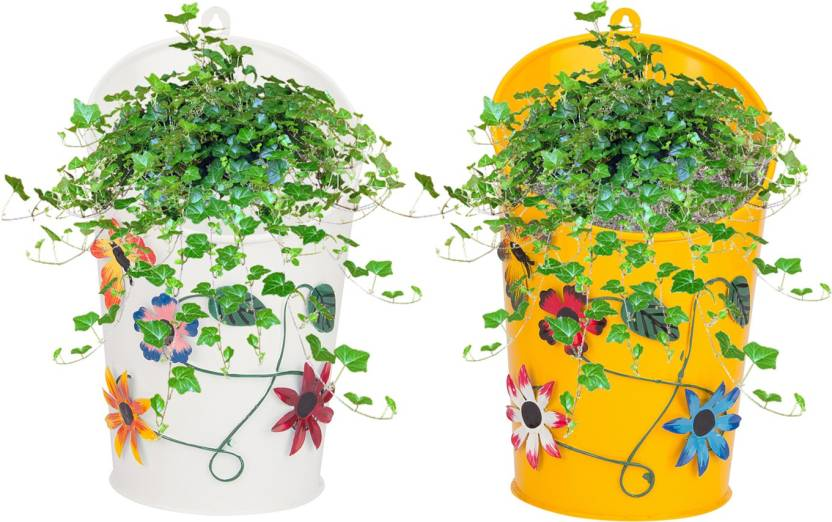 Nuha Half Moon Wall Hanging Planter Set Of 2 Plant Container Price