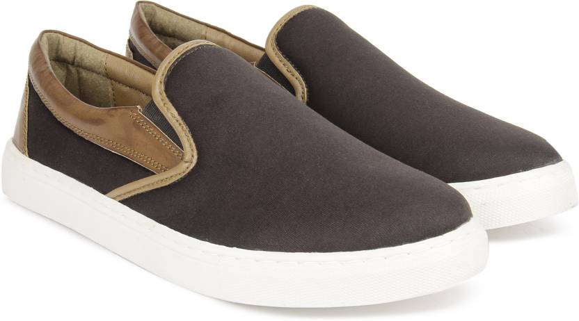 North Star By Bata Domino Slip On Sneakers For Men