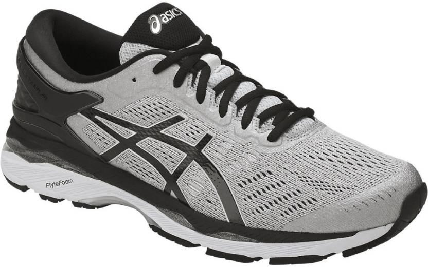 Asics GEL/ KAYANO 24 (2E) Argent/ Noir/ Pour 6851 Gris Moyen Chaussures De Course Pour 830ead1 - artisbugil.website