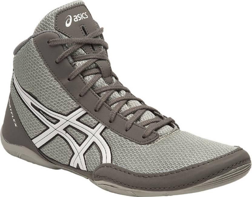 Asics METFLEX 5 5 LIGHT GREY/ pour Asics WHITE/ BLACK Chaussures de lutte pour hommes b1a4b07 - artisbugil.website