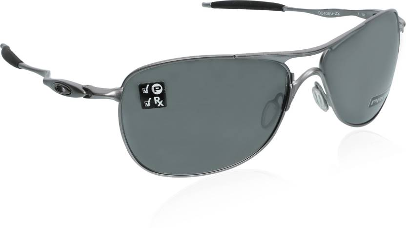 b50f38903ee Buy Oakley CROSSHAIR Sports Sunglass Grey For Men Online   Best ...