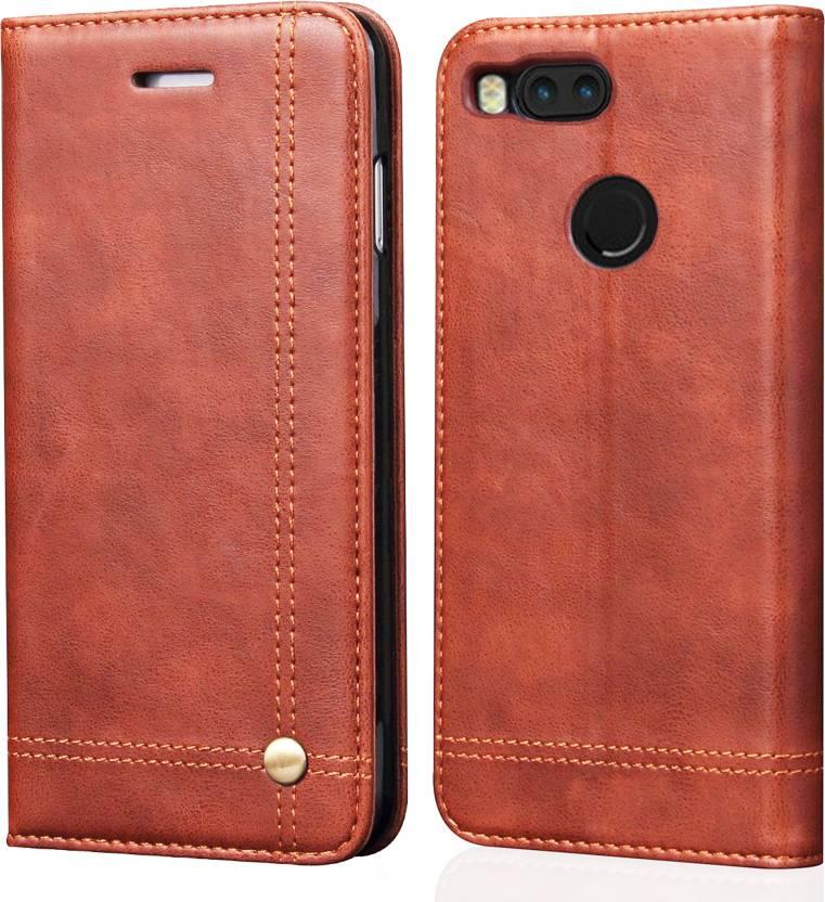detailed look c5555 ff4e0 Febelo Flip Cover for Mi A1 - Febelo : Flipkart.com