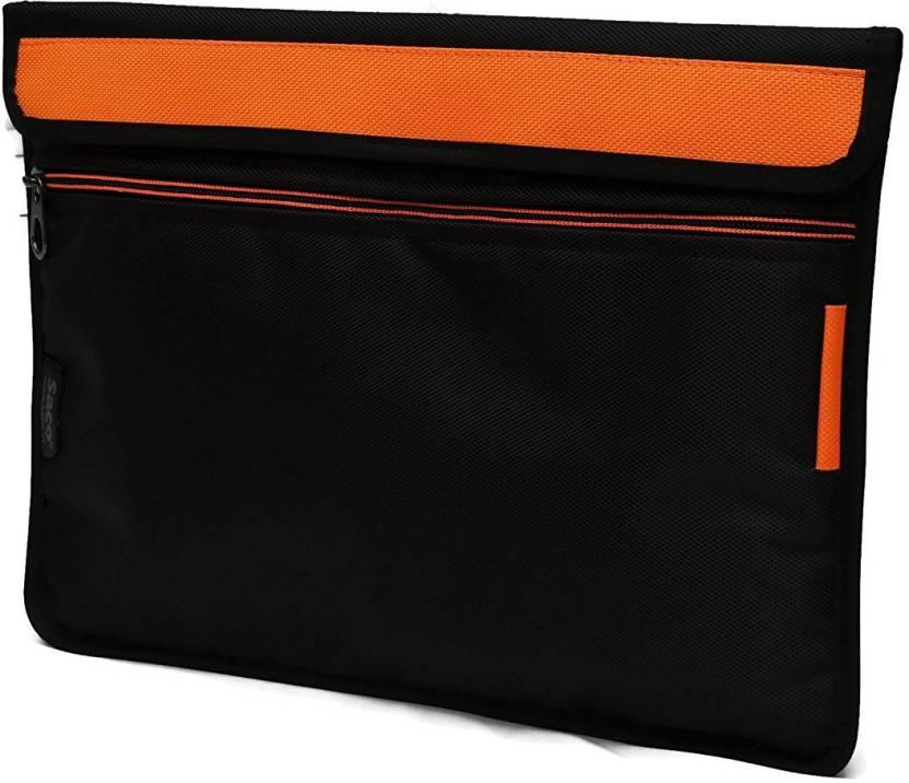 Saco Pouch for Tablet Apple 128  GB iPad Air? Bag Sleeve Sleeve Cover  Orange  Black, Orange