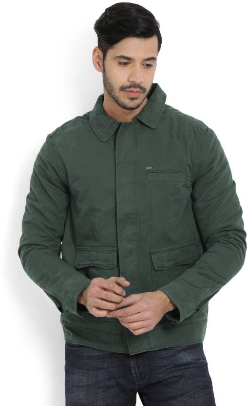 56e5bba0bf Killer Full Sleeve Solid Men's Jacket - Buy Dark Green Killer Full Sleeve  Solid Men's Jacket Online at Best Prices in India | Flipkart.com