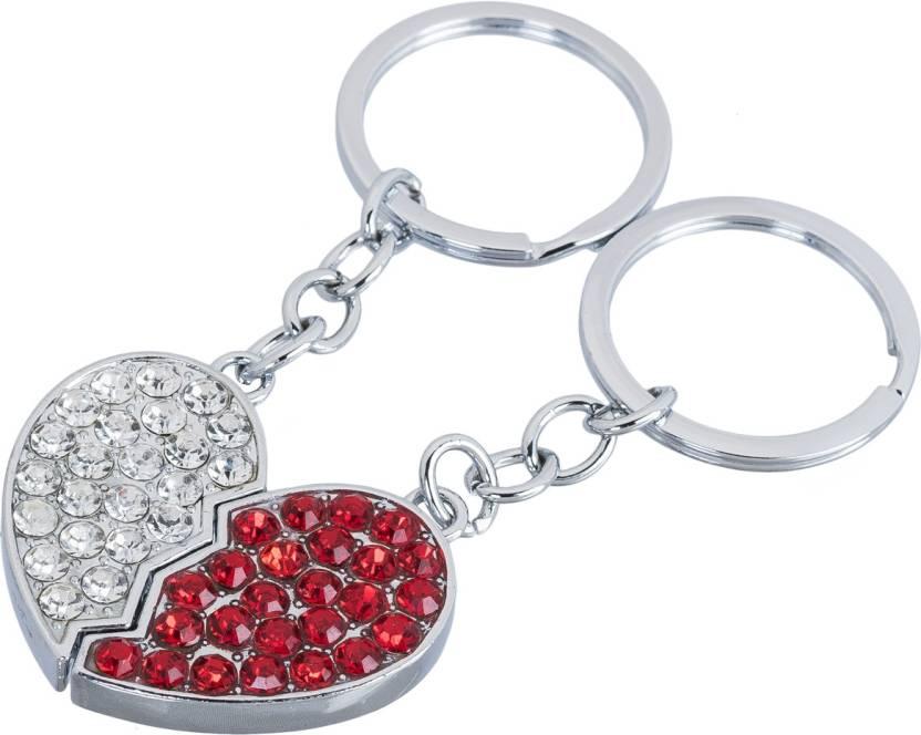 Shubheksha Valentine Gift Cute Bling Heart Shape Key Chain Price In