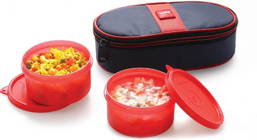 Cello Fresh Joy 2 Containers Lunch Box 625 ml
