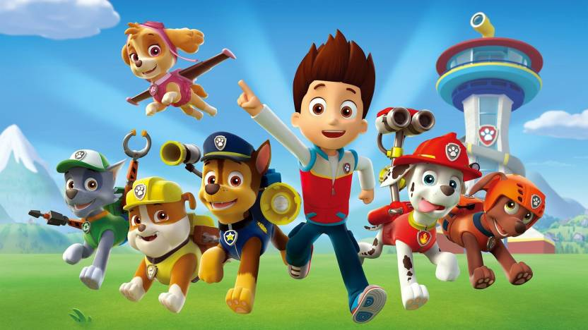 AD Paw Patrol Wall Poster 1319 Inches Matte Finish Paper Print