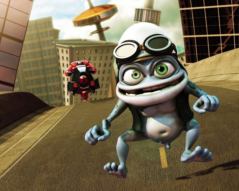 AD Music Wall Poster -crazy-frog 13 19 inches Paper Print (19 inch X 13  inch 1ae8950cfb4b0