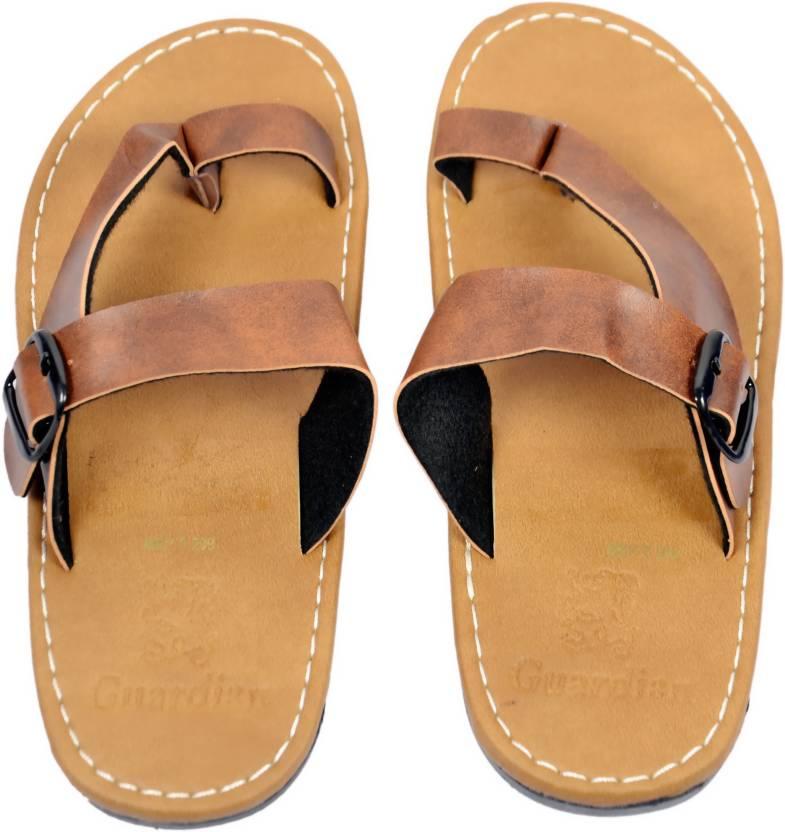7dc41d45eddeb7 Guardian Men Brown Sandals - Buy Guardian Men Brown Sandals Online at Best  Price - Shop Online for Footwears in India