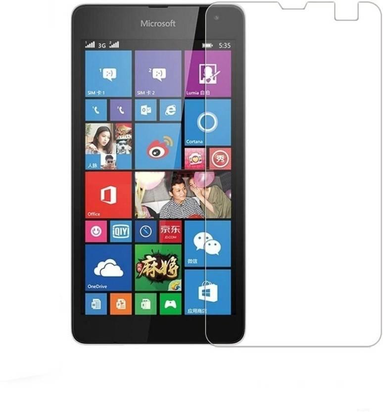 BlackBug Tempered Glass Guard for Nokia Lumia 525 SCREEN PROTECTOR,SCREEN GUARD (CLEAR HD) 0.3MM,2.5D - BlackBug : Flipkart.com