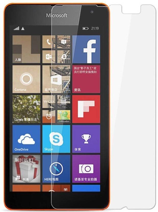 BlackBug Tempered Glass Guard for Nokia Lumia 540 SCREEN PROTECTOR,SCREEN GUARD (CLEAR HD. ON OFFER